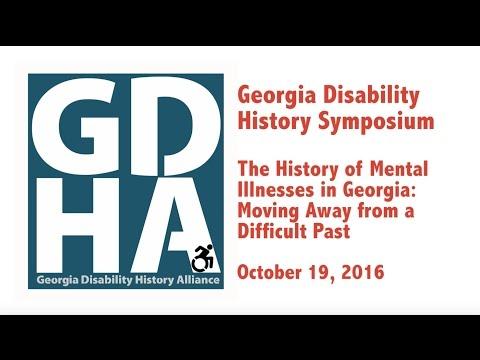 Georgia Disability History Symposium, October 19, 2016