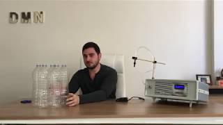 Elektronik Sıvı Dolum Makinası - 1,5 litrelik Dolum Testi DMN-PG1