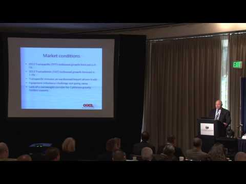 2013 California Maritime Leadership Symposium - Vessel Opera