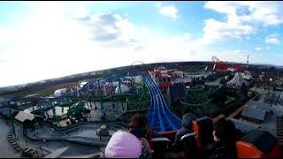 Speed Water Coaster Premier POV 360 VR Energylandia Amusement Park Poland