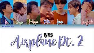 BTS (방탄소년단) - Airplane Pt.2 - (Sub español + Roma + Han + Lyrics + Colorcodedlyrics) Mp3