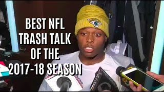 NFL: Best Trash Talk Moments of the 2017-18 Season || HD