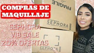 Haul VIB SEPHORA SALE   compras de maquillaje Noviembre en  SEPHORA