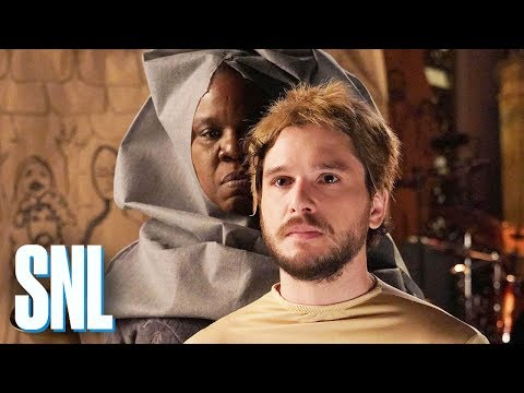 SNL Host Kit Harington Plays Out Leslie Jones' Game of Thrones Fantasy