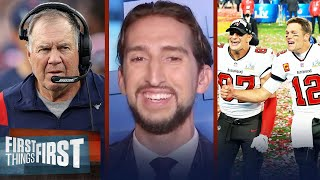 Losing Brady \u0026 Gronk was one of the biggest disasters out of NE — Nick | NFL | FIRST THINGS FIRST
