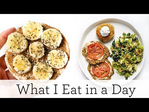 WHAT I EAT IN A DAY ‣‣ Quick & Easy Gluten-Free Recipes