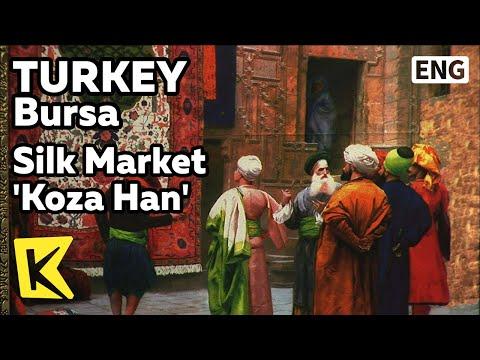 【K】Turkey Travel-Bursa[터키 여행-부르사]터키 최대 비단시장 코자 한/Silk Market 'Koza Han'/Silk Road
