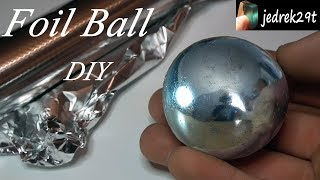 connectYoutube - Polished Aluminum Foil Ball. DIY. Challenge/Kula z folii aluminiowej.