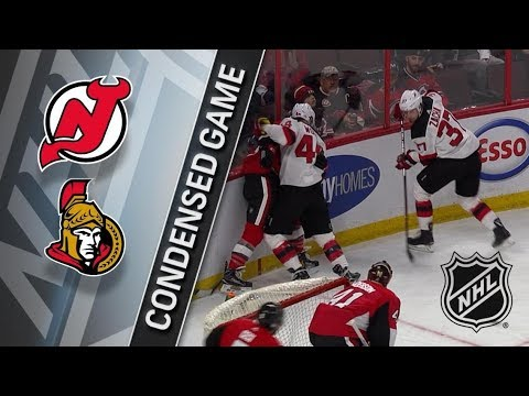 New Jersey Devils vs Ottawa Senators– Feb. 06, 2018 | Game Highlights | NHL 2017/18. Обзор матча