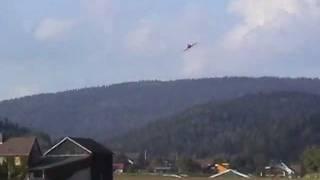 "1. Flug mit RC Jet  ""RED ARROWS"""
