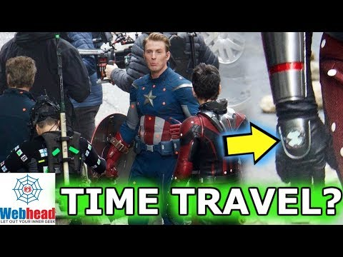 Avengers 4 LEAKED Set Photos! TIME TRAVEL Theory | Webhead
