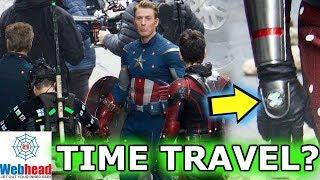 Avengers 4 LEAKED Set Photos! TIME TRAVEL Theory | Webhead