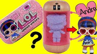 Muñecas L.O.L. Surprise Under Wraps | Jugando muñecas y juguetes con Andre para niñas y niños
