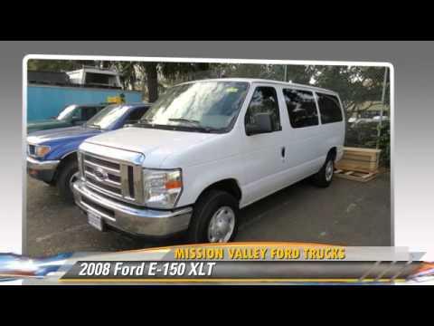 2008 Ford E 150 Xlt Mission Valley Trucks San Jose