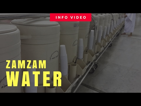 Zamzam at the Two Holy Mosques