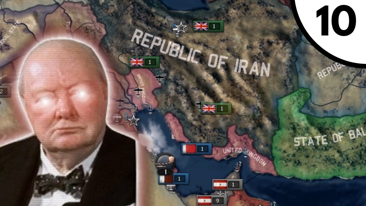 Puppet The Persians [Hoi4 Cold War Iron Curtain: A World Divided: United  Kingdom] Ep  10