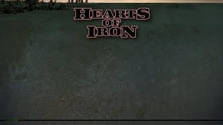 Hearts of Iron gameplay (PC Game, 2002)