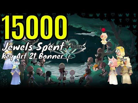 Kingdom Hearts Union X Cross/Key Art 21's Banner/15000 Jewels Spent