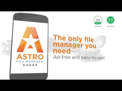 Astro File Manager App