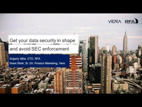 Get Your Data Security In Shape & Avoid SEC Enforcement