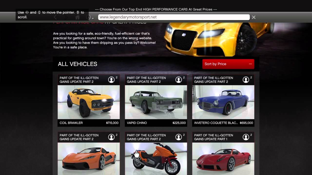 All Gta  Cars And Prices