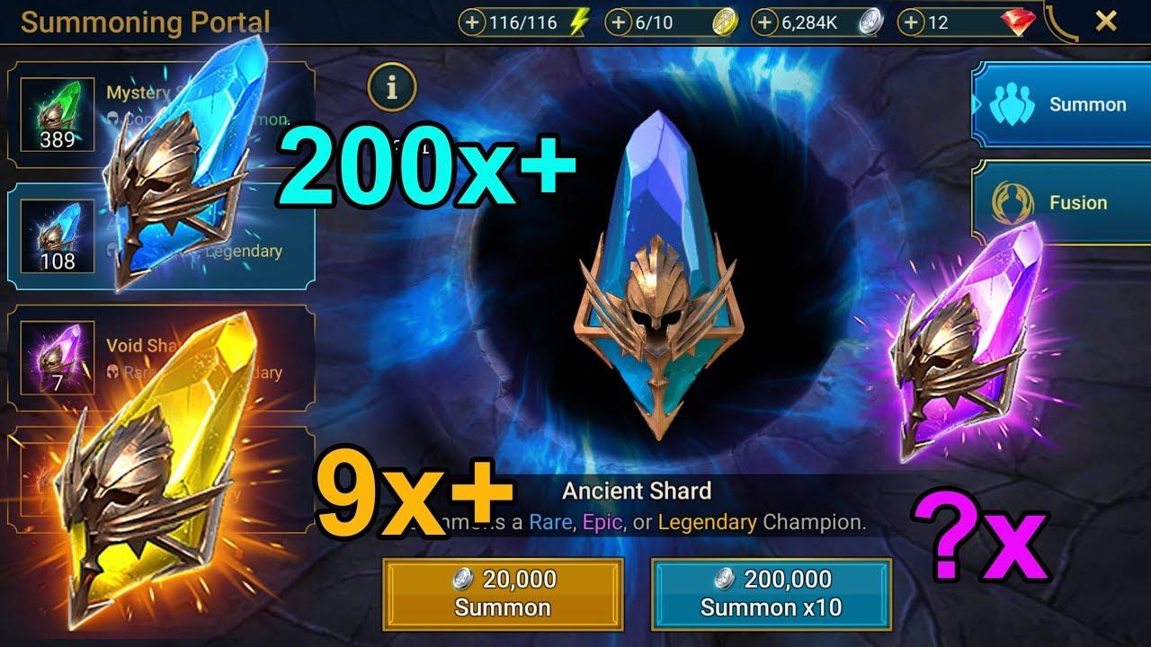 THE BIGGEST SHARD OPENING YET - RAID: Shadow Legends