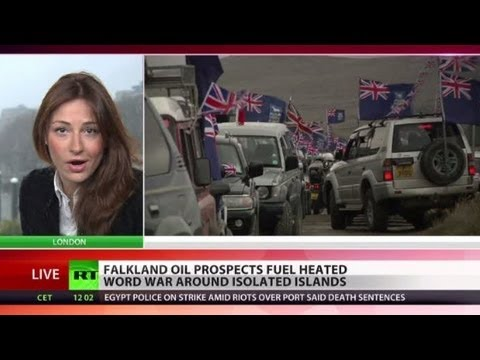Falklands Feud: UK colonial spoil for South Atlantic oil