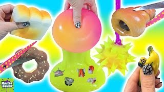 Cutting Open Big Squishy Surprise Toy! Squishy Bakery Sweets! Mashems & Fashems Doctor Squish
