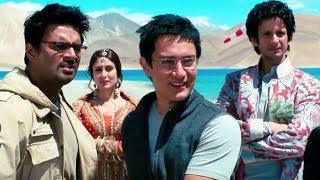 3 Idiots Climax Scene - आमिर खान से मिले करीना, शरमन और माधवन - Omi Vaidya - Hindi Comedy