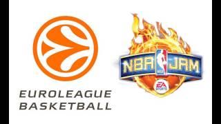 Euroleague Basketball und NBA JAM: On Fire
