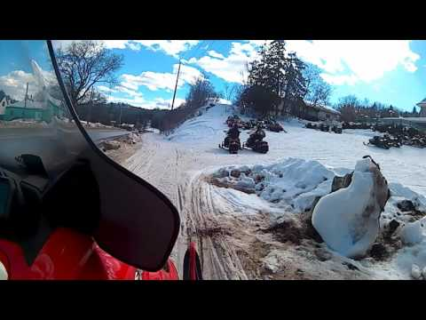Snowmobiling Bancroft Ontario OFSC