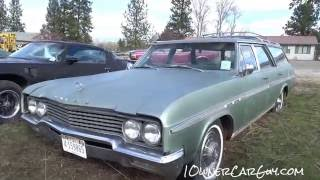 Barn Find Cars 1965 Buick Sport Wagon Station Wagons Video For Sale