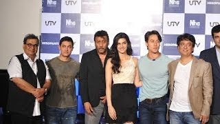 Jackie family gets emotional at 'Heropanti' trailer launch  - IANS India Videos
