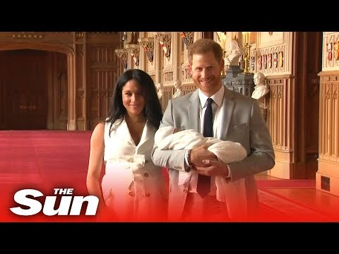Randi West - Baby Sussex introduced to the world