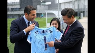 L'investissement du City Football Group en Chine : quand politique & football font bon ménage