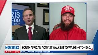 My Interview with Chris Salcedo on Newsmax TV