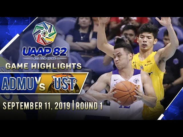 ADMU vs. UST - September 11, 2019  | Game Highlights | UAAP 82 MB