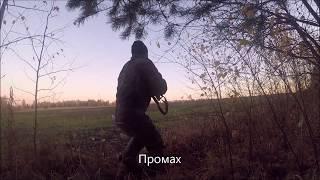 Охота на Тетерева с чучелами и в ходовую. Смотреть до конца.