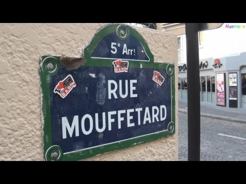A Visit To The Rue Mouffetard