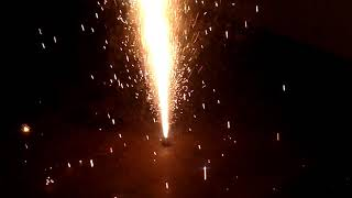 Diwali celebration in slow motion, without pollution
