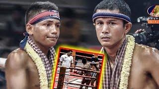 អ៊ូច ធារិទ្ធ Ouch Thearith Vs (Thai) Famai, 27/July/2018, BayonTV Boxing