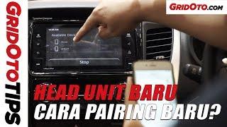 Cara Koneksi HP Ke Head Unit Mitsubishi Pajero Sport Rockford Fosgate | GridOto Tips