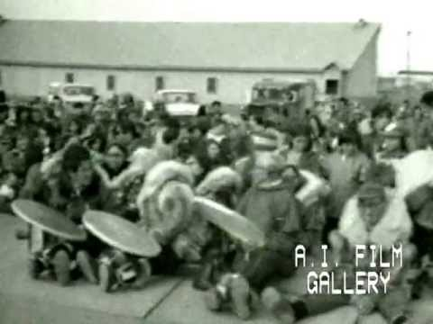 Eskimo, Kotzebue 7: blanket toss and dancing at festivities