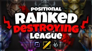 POSITION RANK IS DESTROYING LEAGUE RANK & HERES WHY (Abusable Glitches) - League of Legends