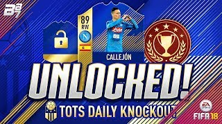 FREE TEAM OF THE SEASON CALLEJON UNLOCKED! | FIFA 18 ULTIMATE TEAM