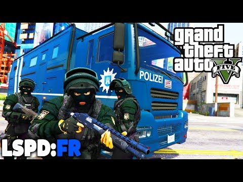 GTA 5 LSPD:FR - Gefährlicher SEK / SWAT Einsatz! - Deutsch - Polizei Mod #58 Grand Theft Auto V