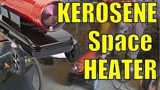 KEROSENE Paraffin SPACE HEATER.  Unboxing & Power Up