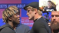 REACTING TO KSI VS. LOGAN PAUL UK PRESS CONFERENCE