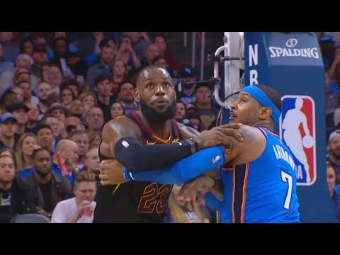 LeBron James Gets Revenge on Carmelo Anthony! Cavaliers vs OKC Thunder
