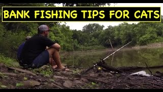 How to bank fish pond pits for Channel Catfish!